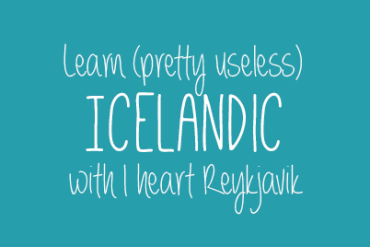 Learn Icelandic #18: The Euro 2016