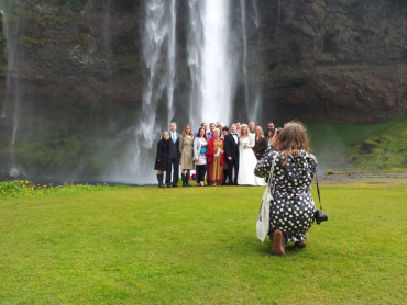 An Ásatrú Wedding: A couple of New Yorkers get hitched by Seljalandsfoss.