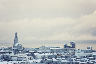 A morning walk in winter