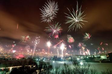 New Years Eve in Reykjavík