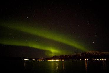 Dark nights and northern lights: A boat trip to remember