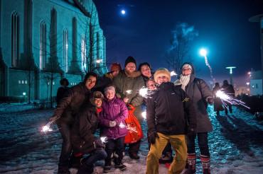 New Years Eve in Reykjavík 2013