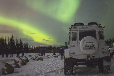 Northern lights super jeep tour with Superjeep.is