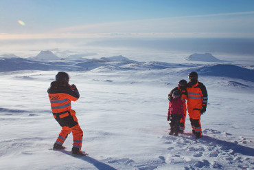 Snowmobiling on Mýrdalsjökull with Arcanum Glacier Tours