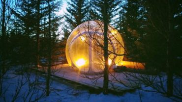Three slightly odd places to stay at in Iceland