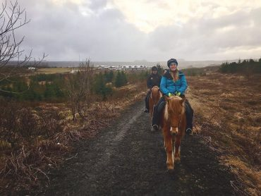 Sarah takes on Iceland: Horse riding with Viking horses