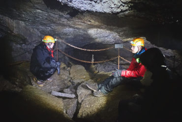 Sarah takes on Iceland: Lava Cave Exploration with Icelandic Mountain Guides